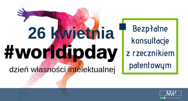 Bezpłatne konsultacje wJWP zokazji Światowego Dnia Własności Intelektualnej